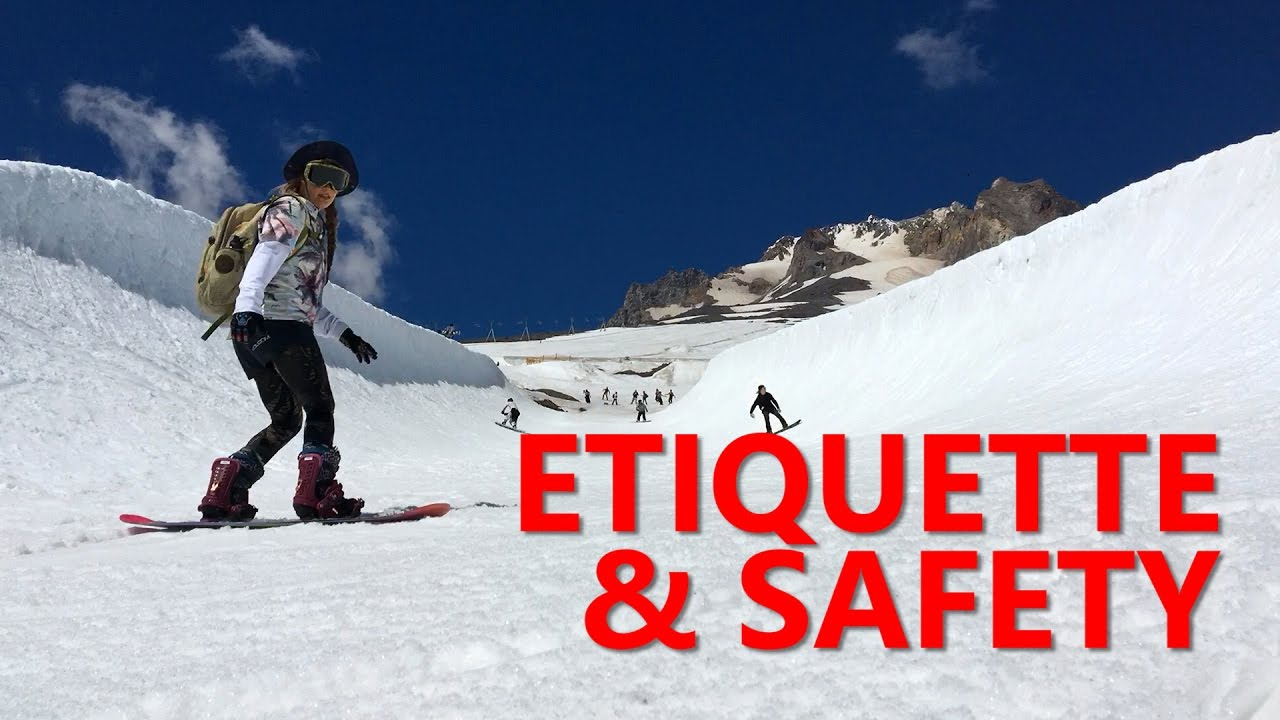 Terrain Park Etiquette & Safety Tips