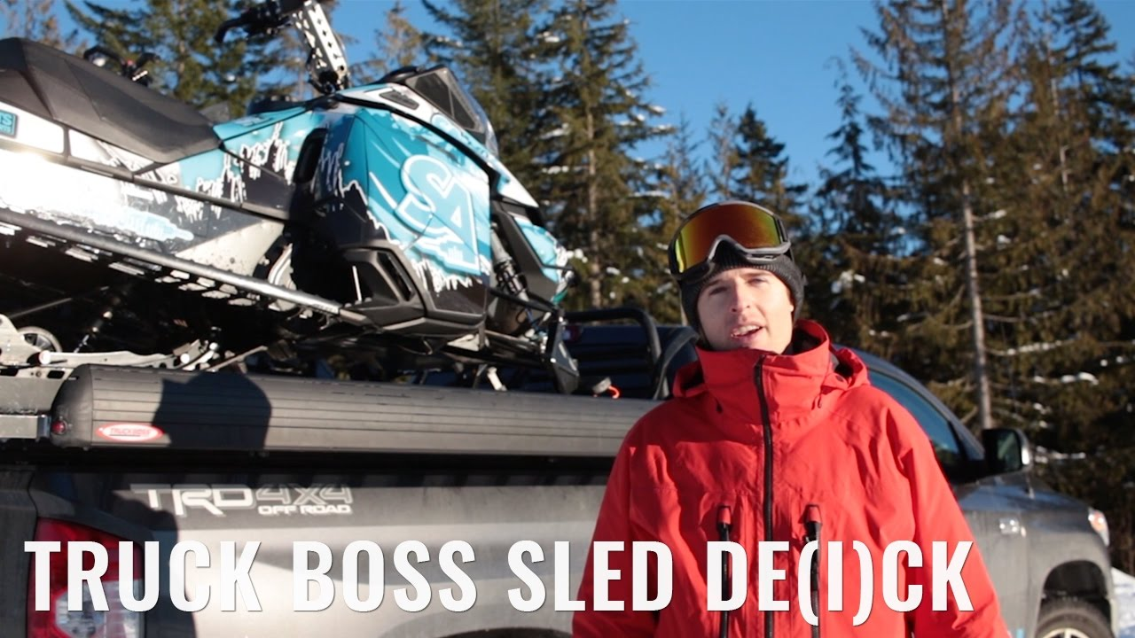 Truck Boss Sled Deck Parody Review
