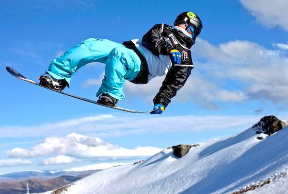 Snowboarding Term: Air