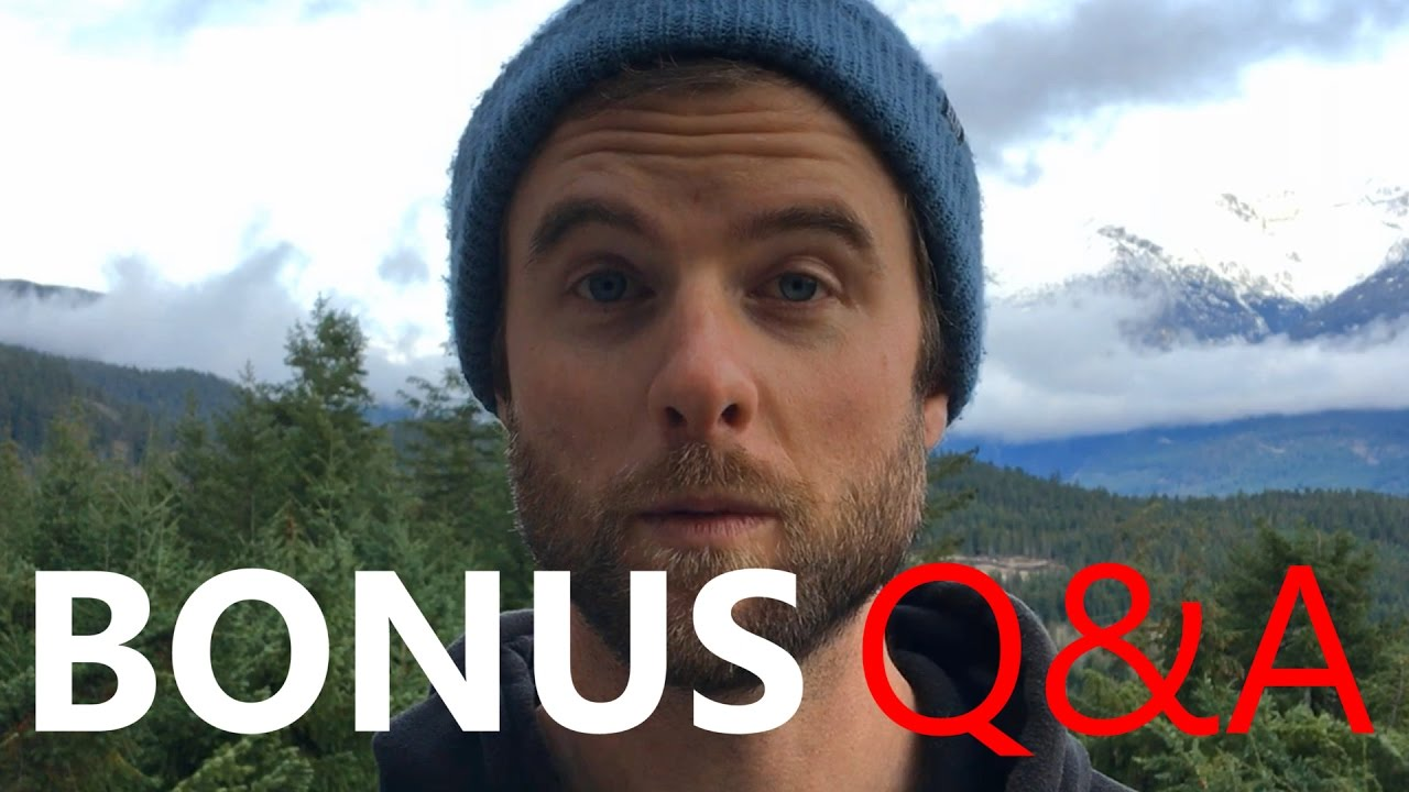 BONUS Q&A / Buying VS Renting / Frontside VS Backside / 100 Days Riding / Womens Review