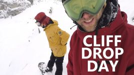 Cliff Drop Day – Snowboarding Fails & Fixes