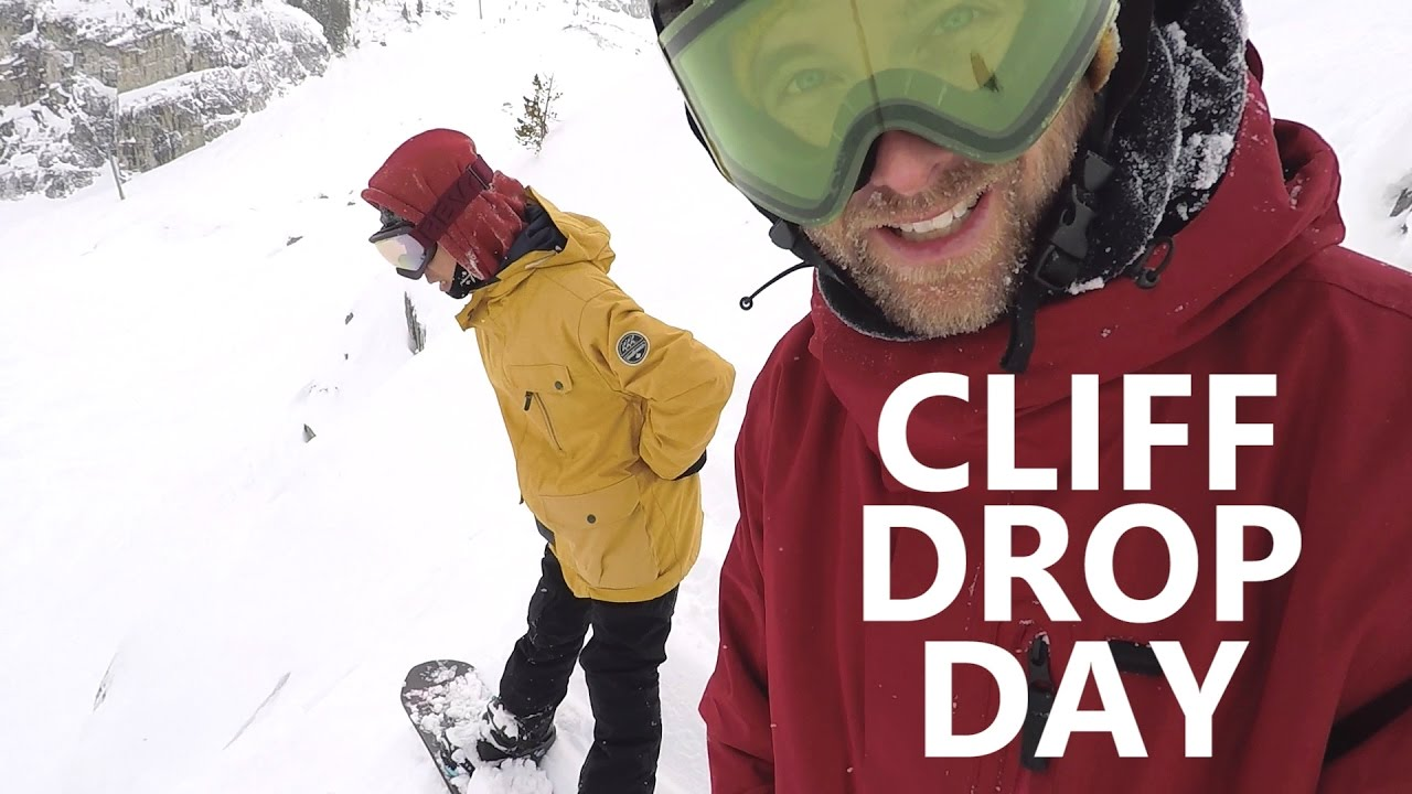 Cliff Drop Day - Snowboarding Fails & Fixes
