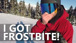 I Got FROSTBITE Snowboarding in Whistler