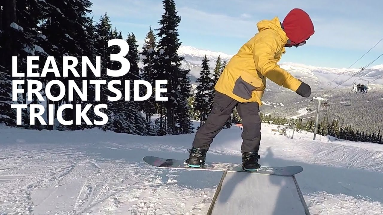 How to Front 360, Front Boardslide & Front Shifty - Snowboarding Tricks