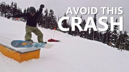 Avoid The Boardslide CRASH! – Beginner Snowboard Tricks