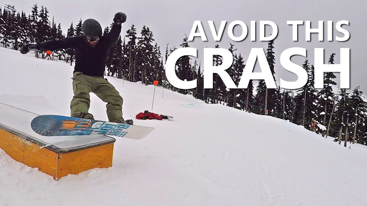Avoid The Boardslide CRASH! – Beginner Snowboard Tricks